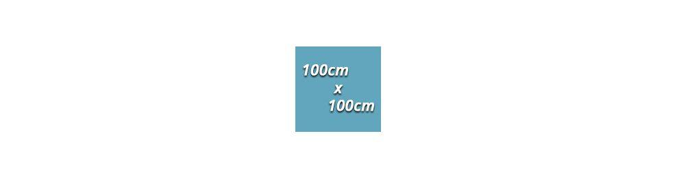 100cm x 100cm - 1m²