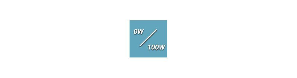De 0 à 100 Watts
